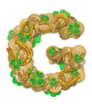 St. Patricks Day holiday letter G