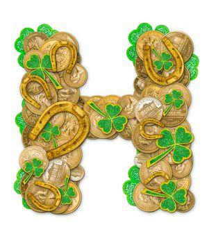 St. Patricks Day holiday letter H