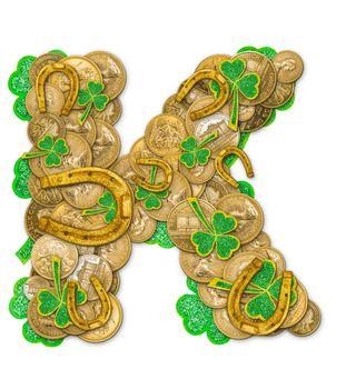 St. Patricks Day holiday letter K