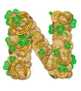 St. Patricks Day holiday letter N