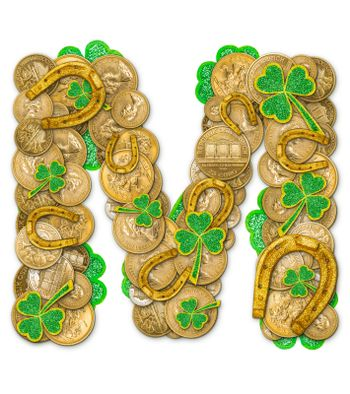 St. Patricks Day holiday letter M