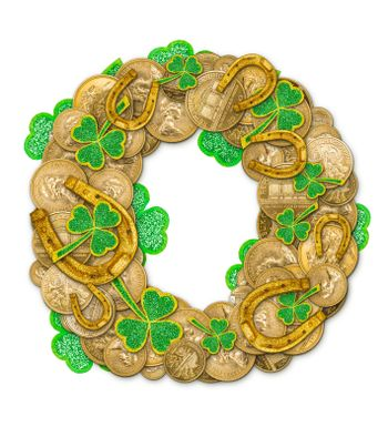 St. Patricks Day holiday letter O