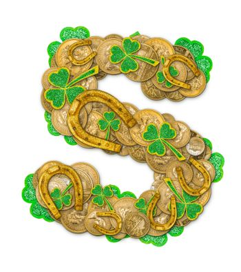 St. Patricks Day holiday letter S