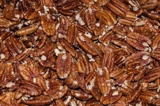 Pecan nut is used in the manufacture of confectionery