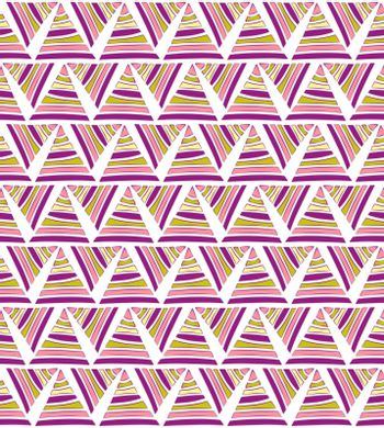 abstract textile triangular pattern