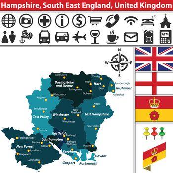 Hampshire, South East England, UK