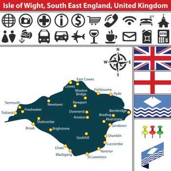 Isle of Wight, South East England, UK