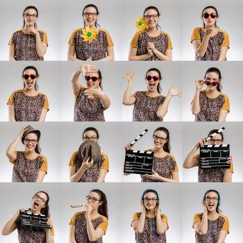 Female Multiple Portraits