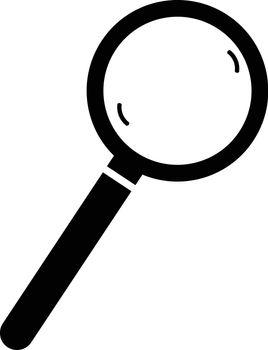 icon handheld magnifier , vector ESP10