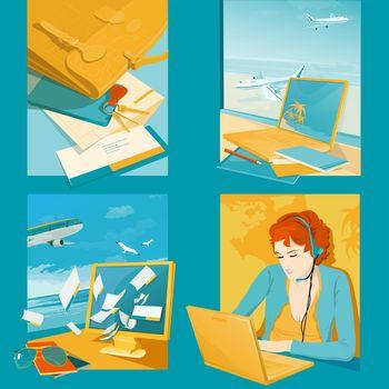 Travel Agency Illustrations