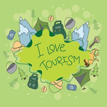 Summer camp - doodles elements