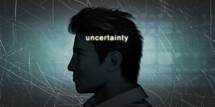 Man Experiencing Uncertainty