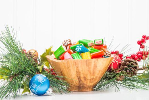 Colorful Seasonal Candy Bowl