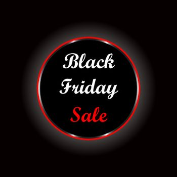 Black Friday Sale poster to use for prints, flayers, leaflets, adverts