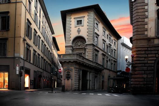Unusual house in Florence