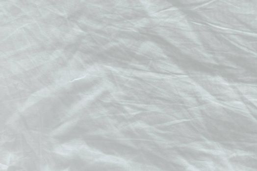 Unmade bed sheet texture, top view as abstract texture or displacement map