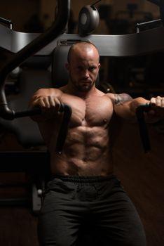 Chest Workout On Machine