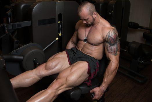 Health Club Leg Exercises