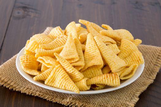 Snack cone triangle