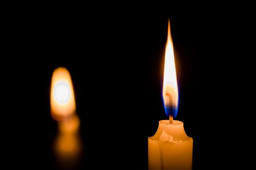 One candlelight