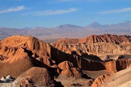 Amphitheater, valle de la Luna, valley of the moon, Atacama desert Chile