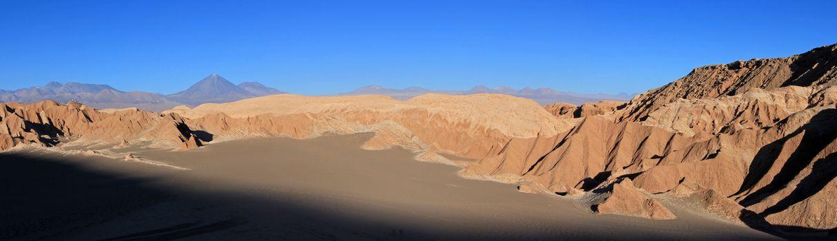 Valle de la Luna, valley of the moon, Atacama desert Chile