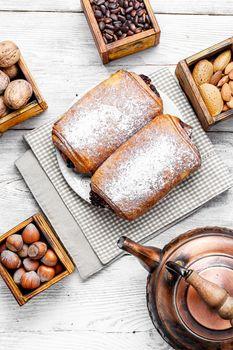 Fragrant walnut pastries