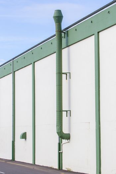 Metal ventilation chimney