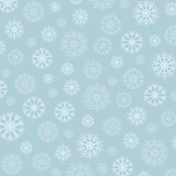 Gorgeous snowflakes background