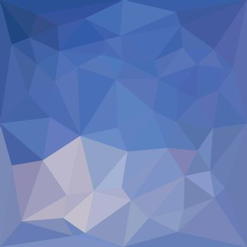 Low polygon style illustration of a powder blue abstract geometric background.