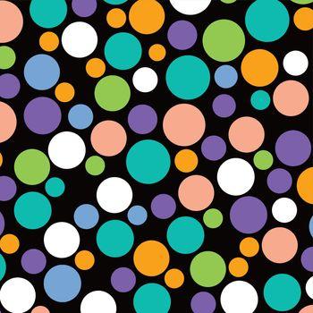 colorful dot theme art background