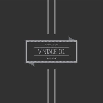 vintage label theme