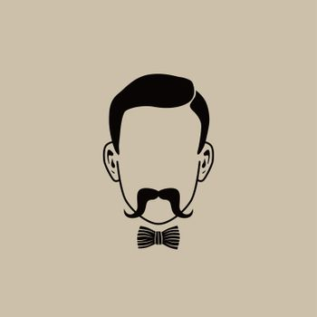 hipster guy illustration