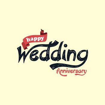 happy wedding anniversary theme