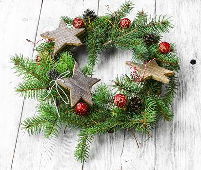 Symbolic Christmas wreath