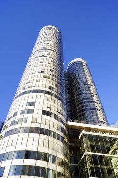 Coeur Defense skyscraper in La Defense