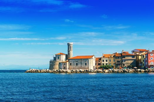 Old town of Piran in Slovenia
