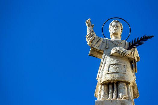 Sicilian Baroque statue