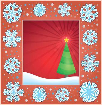 Christmas subject greeting card 2