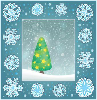Christmas subject greeting card 4