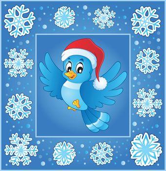 Christmas subject greeting card 5