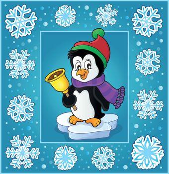 Christmas subject greeting card 6