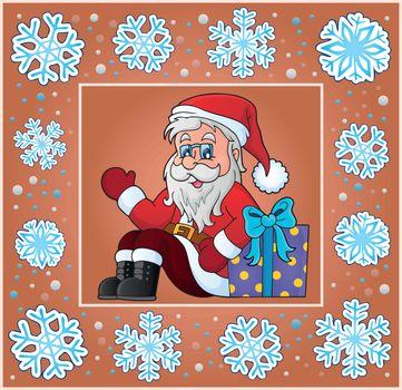 Christmas subject greeting card 7