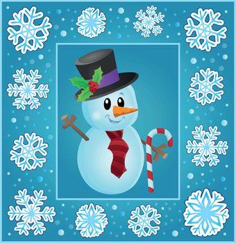 Christmas subject greeting card 8