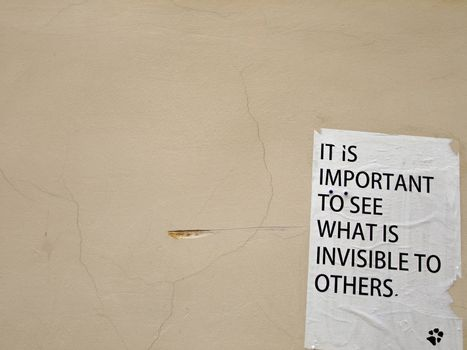 Philosophy on the Wall