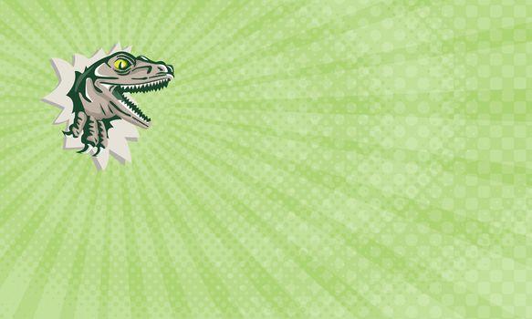 T-Rex Surveillance Business Card