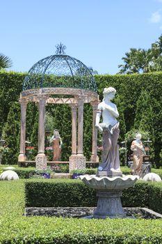CHONBURI THAILAND-AUGUST11:beautiful decoration european garden