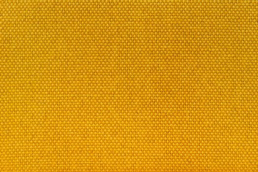Yellow fiber textile material texture