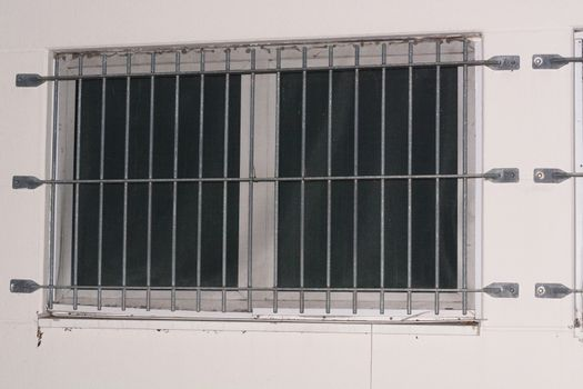 Security grille for windows and doors as protection against intr