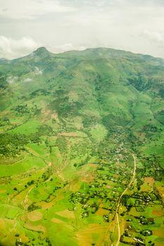 Highlands surrounding Addis Ababa